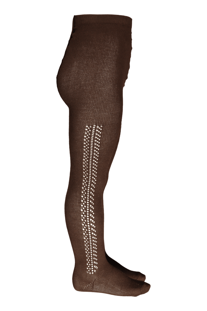 Lace Detail Tights, Cone