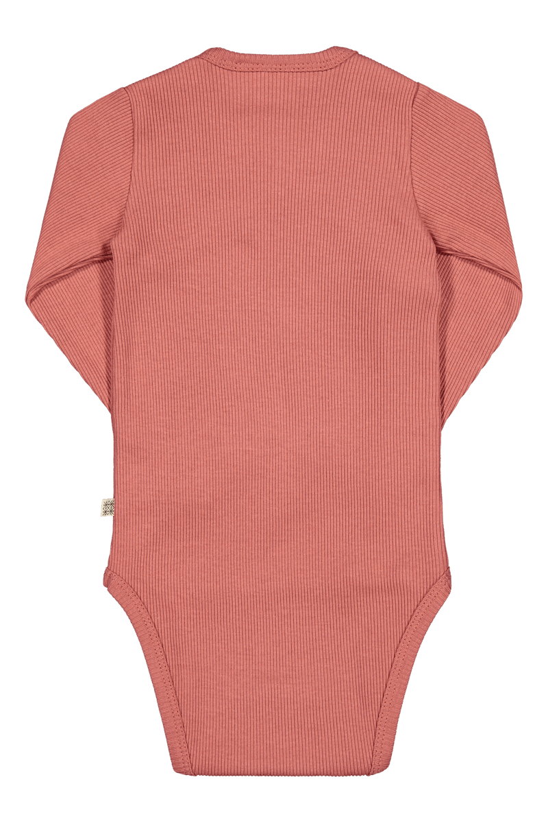 Rib Body Ls, Cranberry