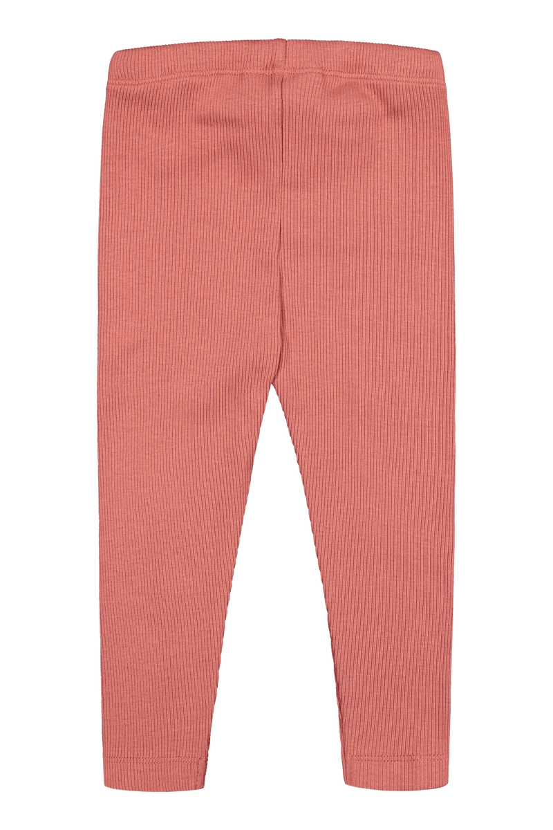 Rib Leggings, Cranberry