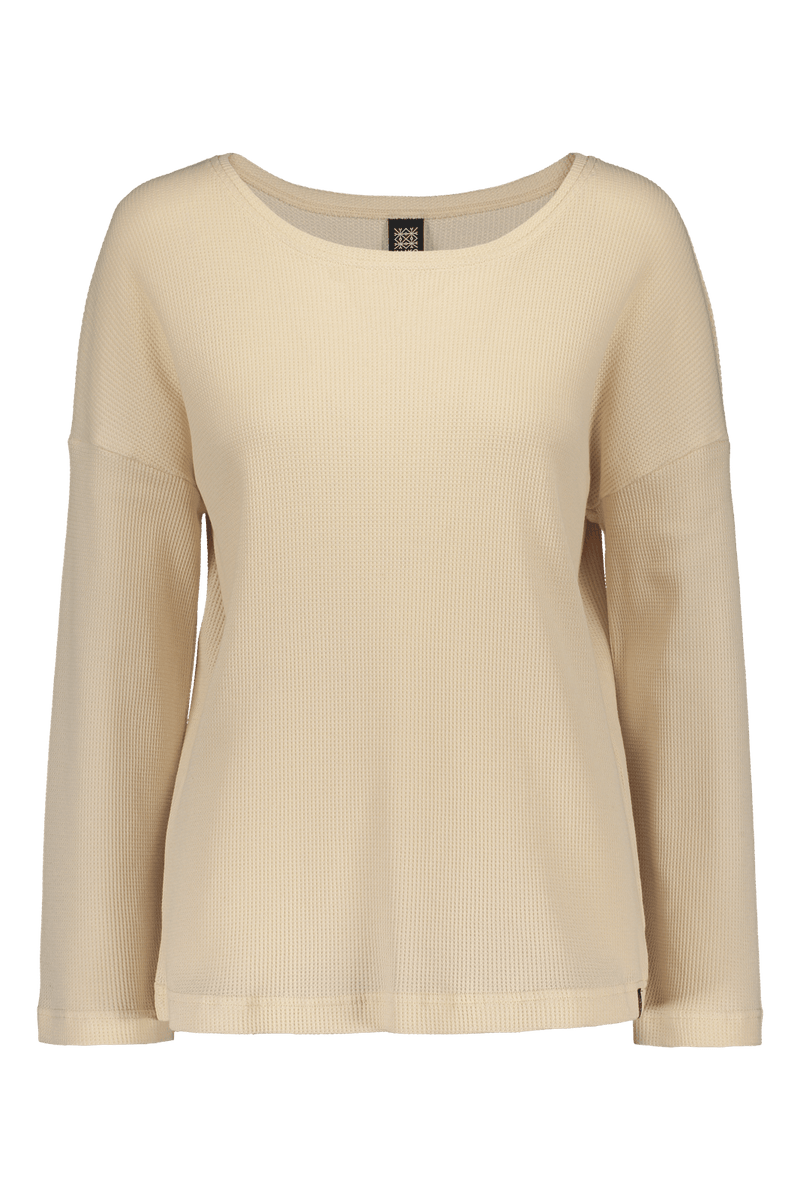 Boxy Shirt Ls, Almond