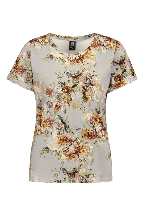 Everyday T-shirt Ss, Vintage Flora
