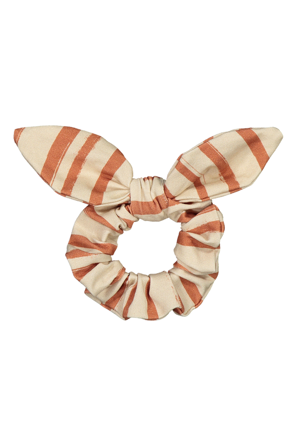 Bow Scrunchie, Boho Stripe