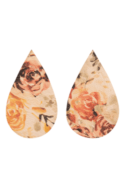 KAIKO x FMAM Drop Earrings, Rose Yard