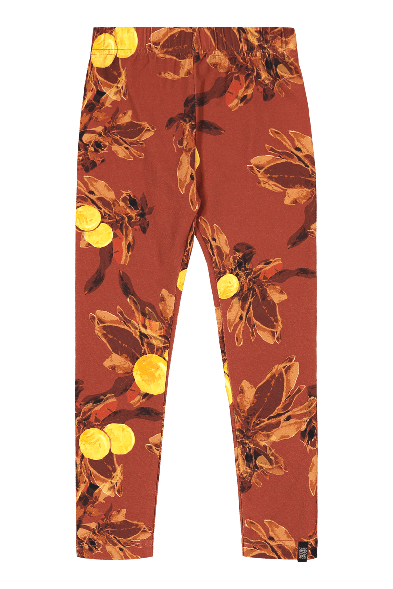 Amber Orange Leggings