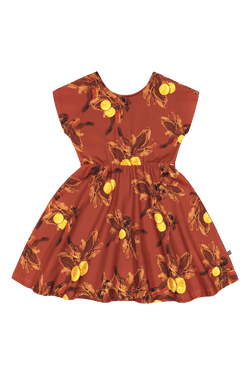 Breeze Dress, Amber Orange