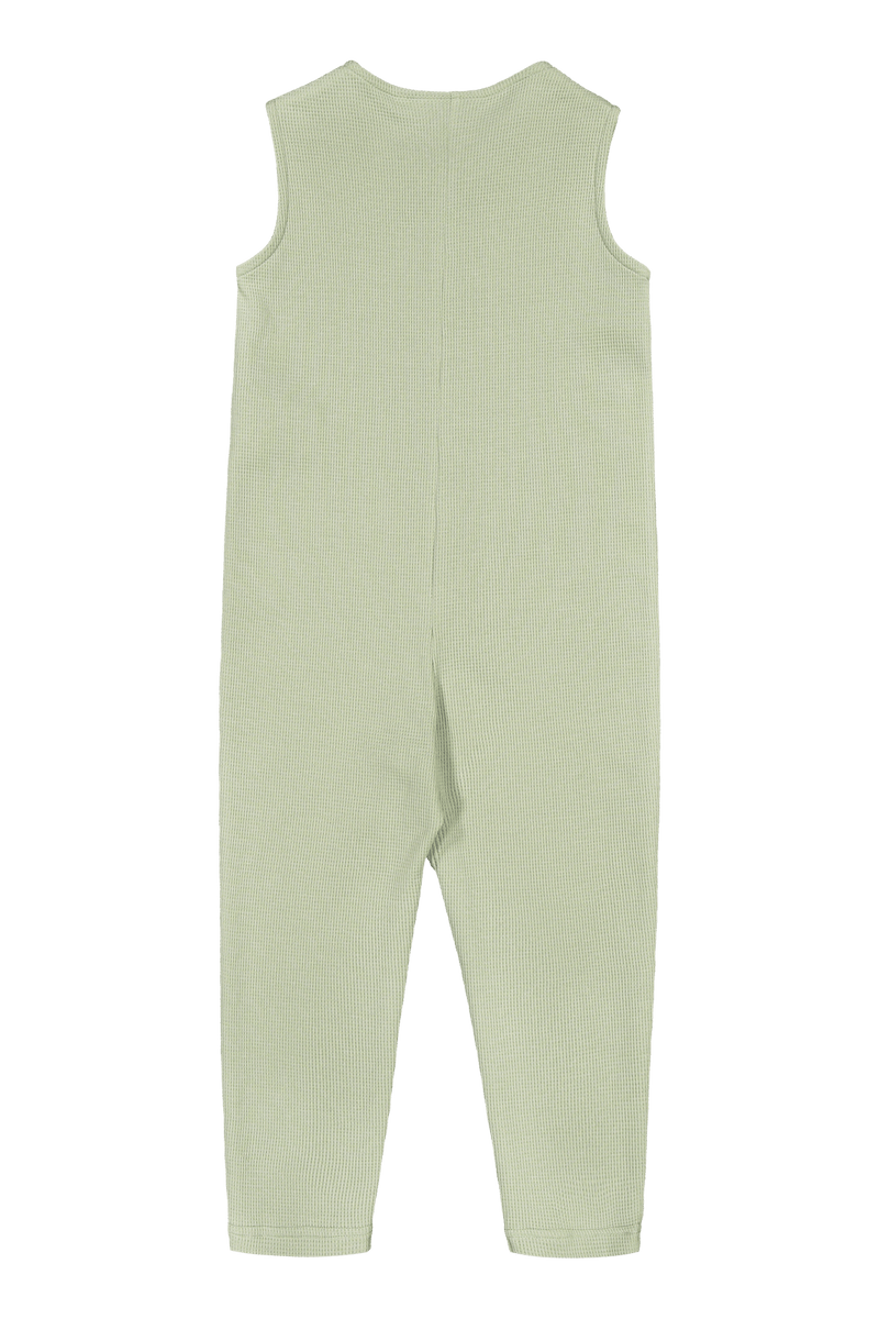 Button Onesie, Pistachio