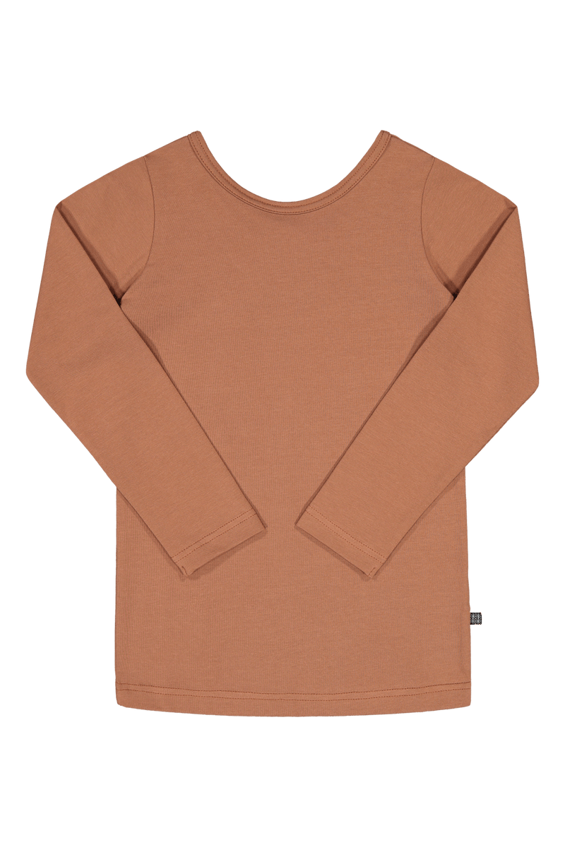 Cross Shirt LS, Mocha