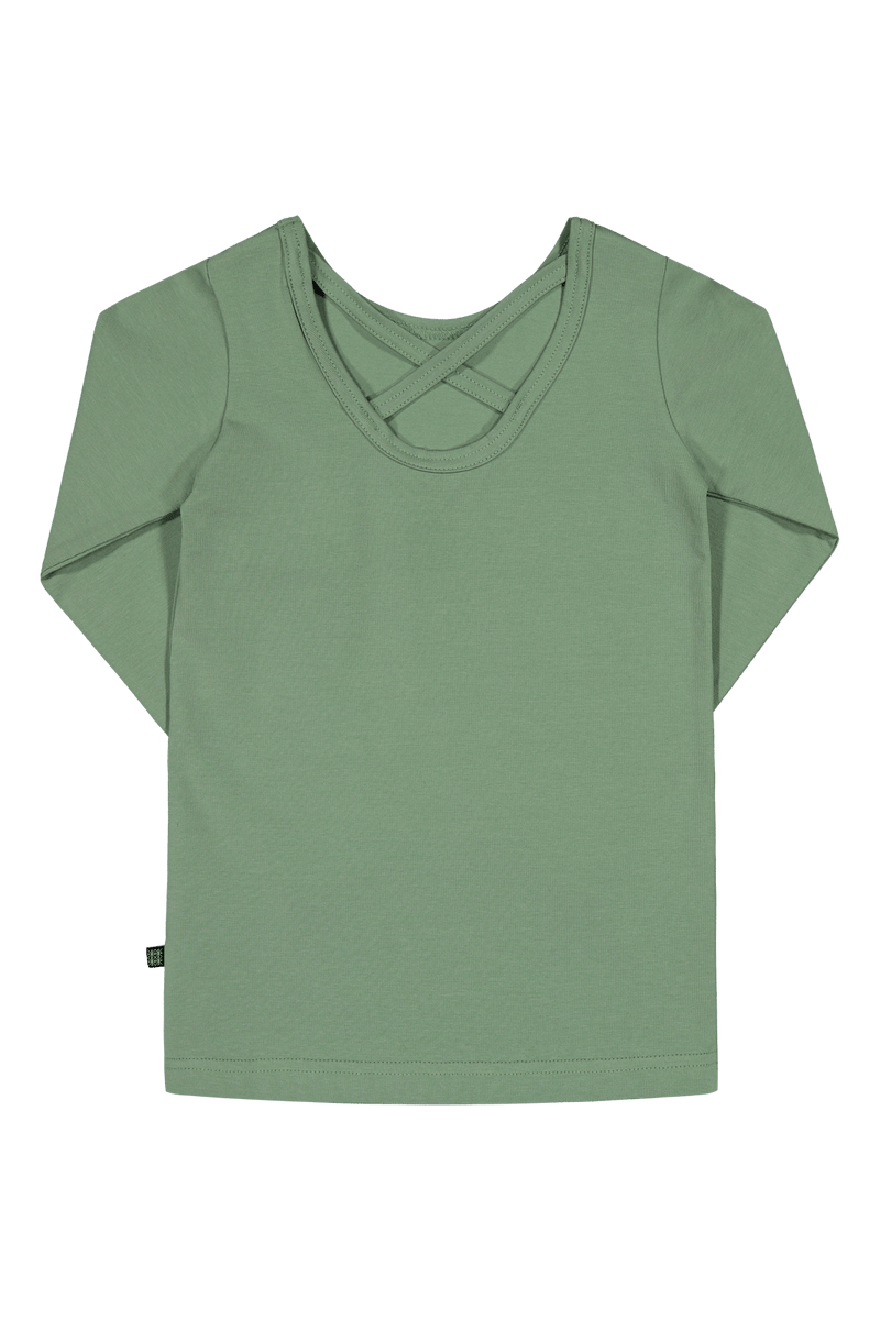 Cross Shirt LS, Sage