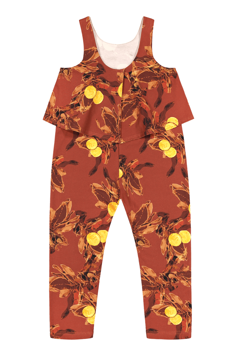 Oasis Jumpsuit, Amber Orange