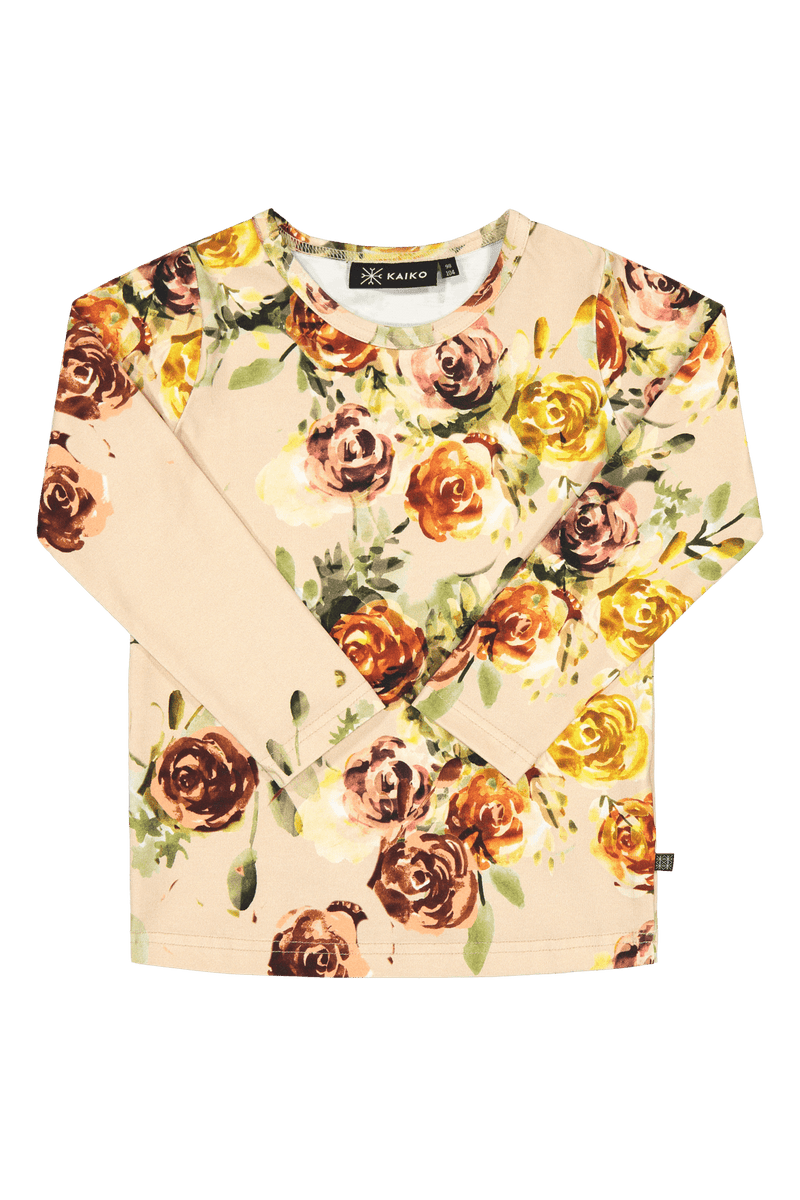 Rose Yard T-shirt Ls