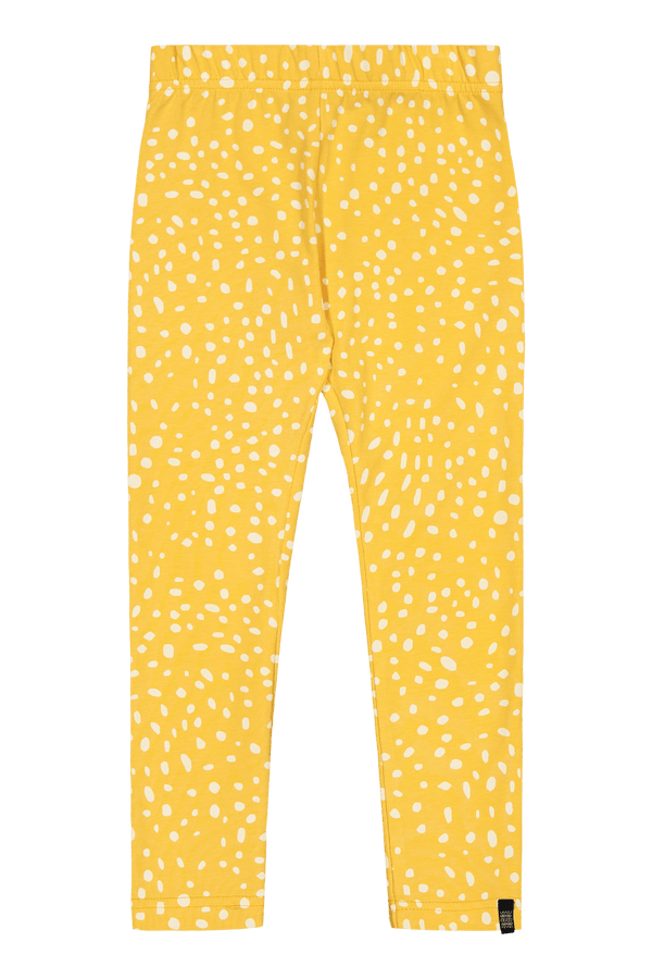 Wild Dots Leggings, Citrus