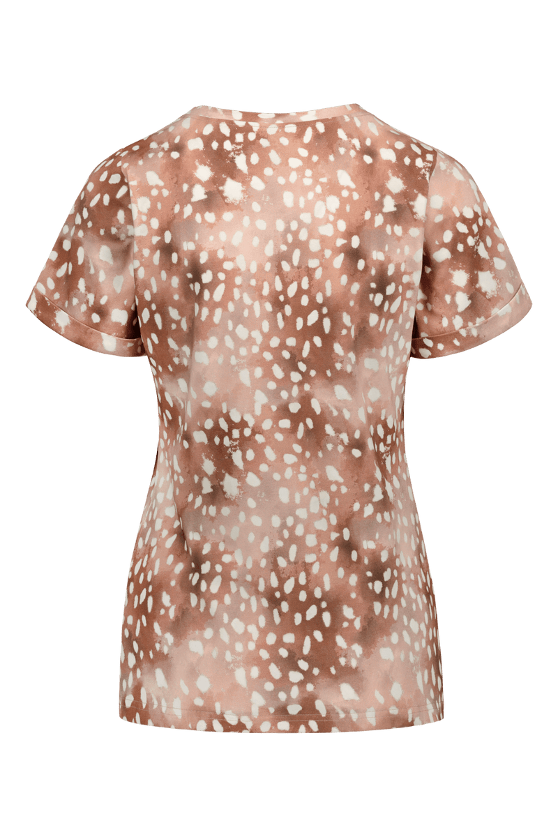 Everyday T-shirt SS, Copper Bambi