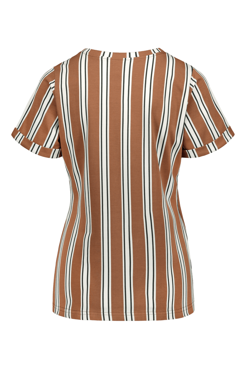 Everyday T-shirt SS, Hazel Stripe