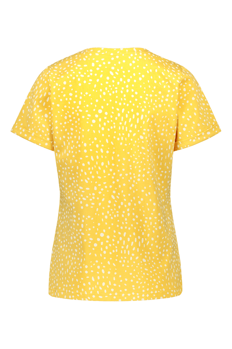 Everyday T-shirt Ss, Wild Dots Citrus
