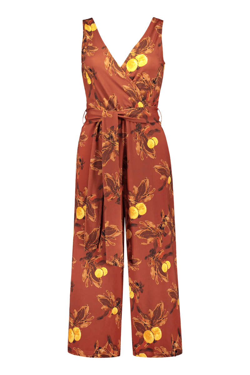 Jumpsuit, Amber Orange