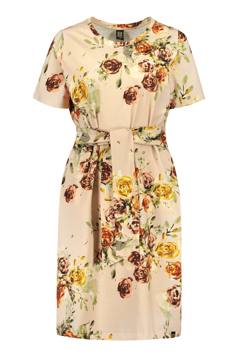 T-shirt Dress SS, Rose Yard