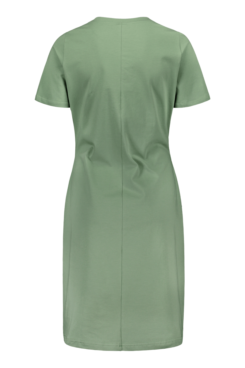 T-shirt Dress SS, Sage