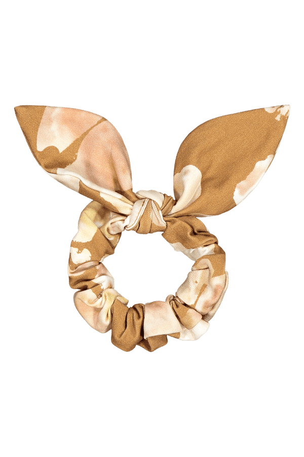 Bow Scrunchie, Marble Meadow