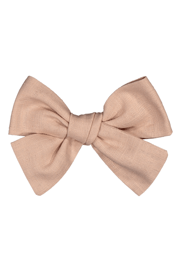 Bow Hairclip, Dusty Pink