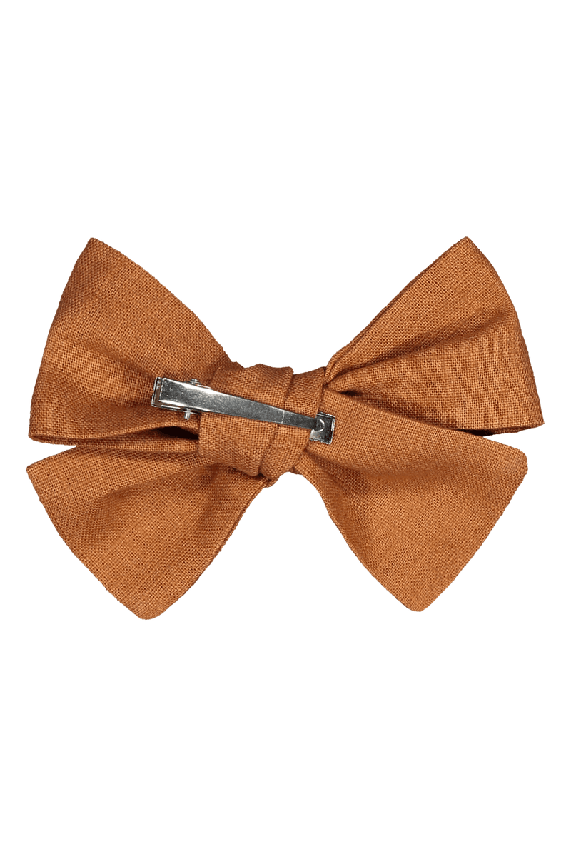 Bow Hairclip, Cognac
