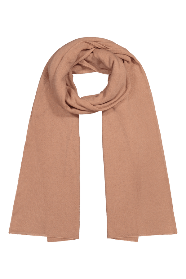 Knitted Cashmere Scarf, Azalea