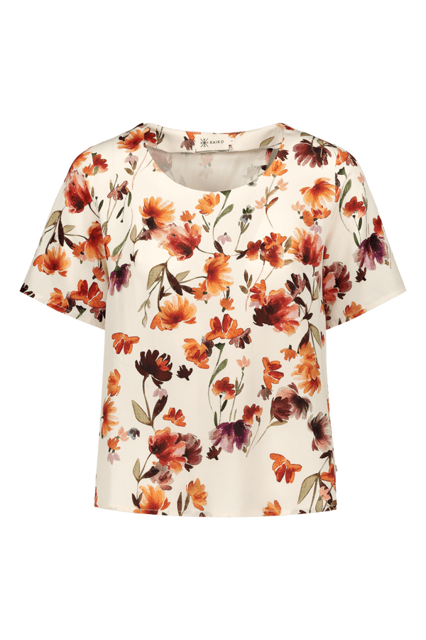 Wrap Back Blouse, Full Bloom