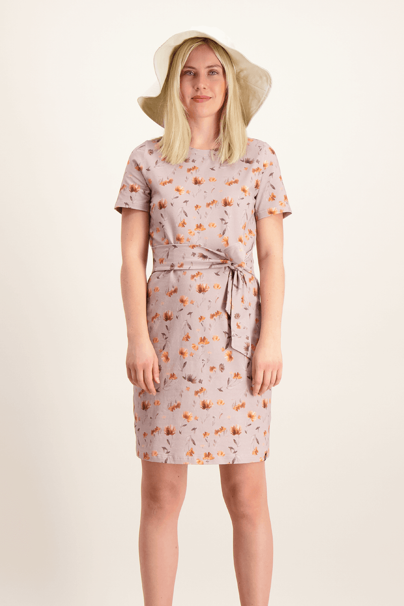 T-shirt Dress, Poppy Field