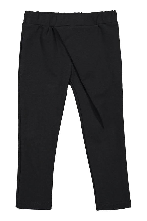 Wrap Pants, Black
