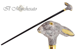 Adorable Bunny Rabbit Head - Walking Cane - il-marchesato