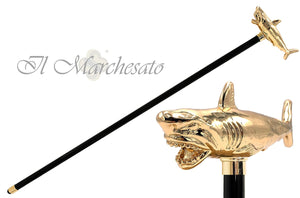 Limited shark collection Walking cane - il-marchesato