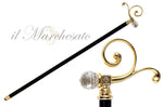 Carica l'immagine nel visualizzatore di Gallery, BEAUTY COLLECTIBLE BRASS WALKING STICKS