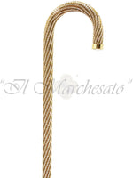 Carica l'immagine nel visualizzatore di Gallery, Crook Walking Cane Encrusted with Swarovski Elements - il-marchesato