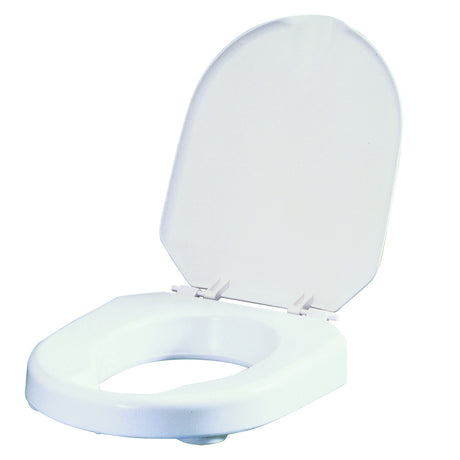 Hi-Loo Fixed Raised Toilet Seat - 6cm and 10cm
