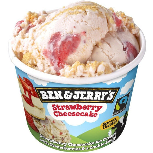 Ben & Jerry's Strawberry Cheesecake - 6 Unidades