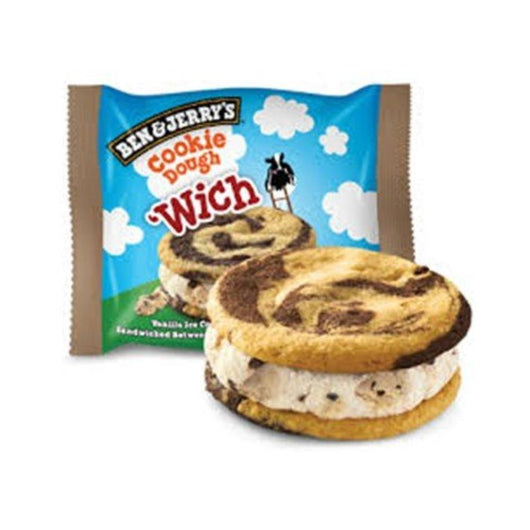 Ben & Jerry's Wich Cookie Dough - 10 Unidades