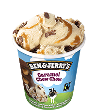 Ben & Jerry's Caramel Chew Chew <br>- 6 Unidades