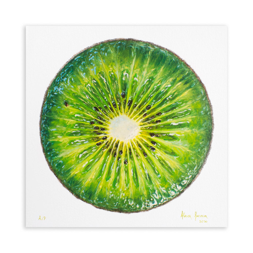 Kiwi Portrait, edition of 100