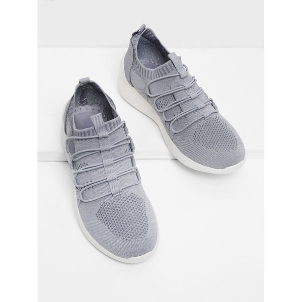 Knit Design Slip On Sneakers - Anabella's