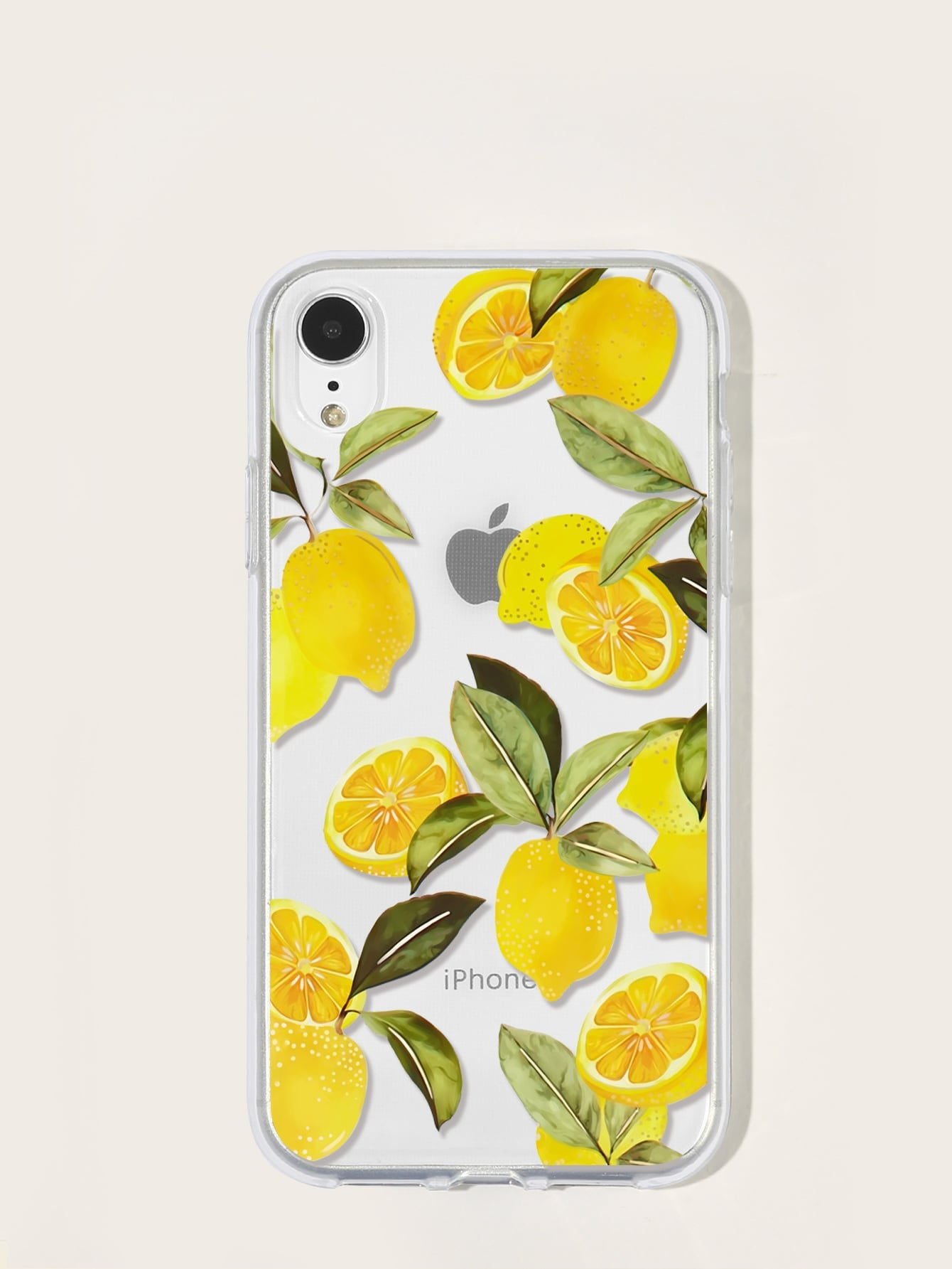 Lemon Pattern iPhone Case