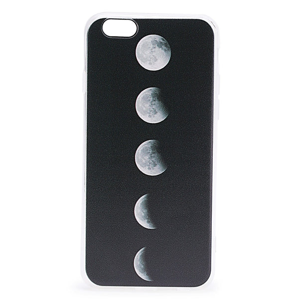 Black Total Solar Eclipse Pattern iPhone Case - Anabella's