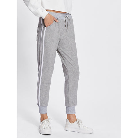 Stripe Tape Side Sweatpants Grey