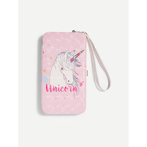 Unicorn Pattern PU Wallet