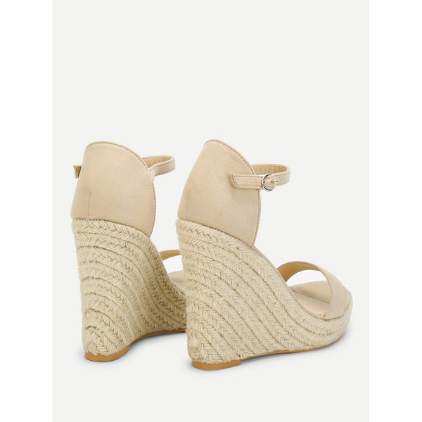 36fa6a194cb Two Part Espadrille Wedge Sandals | Anabella's
