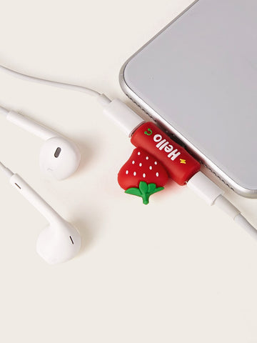 Strawberry Design USB Cable Protector