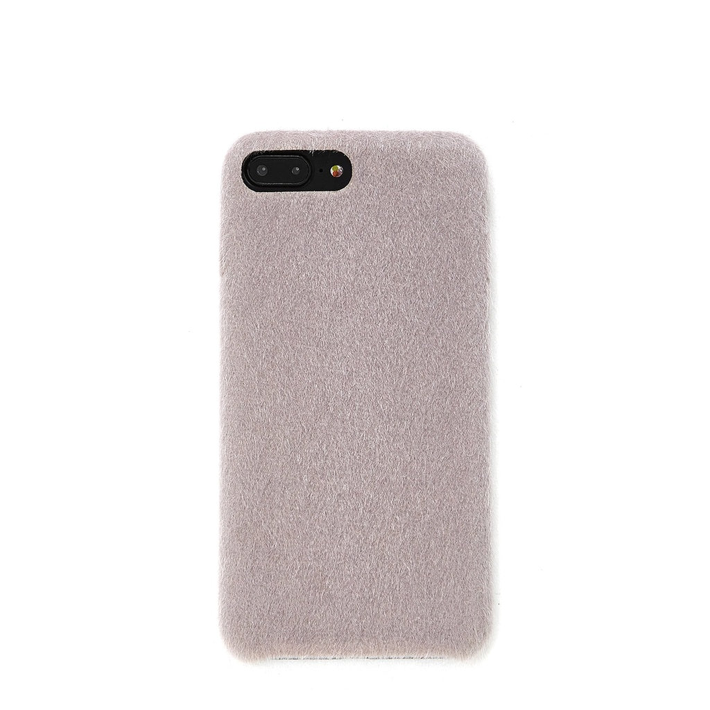 Faux Fur Overlay iPhone Case - Anabella's