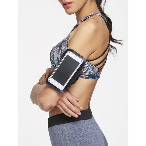 Black 5.Mobile Phone Arm Belt - Anabella's