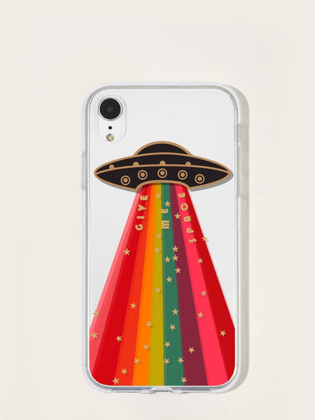 Planet Pattern iPhone Case