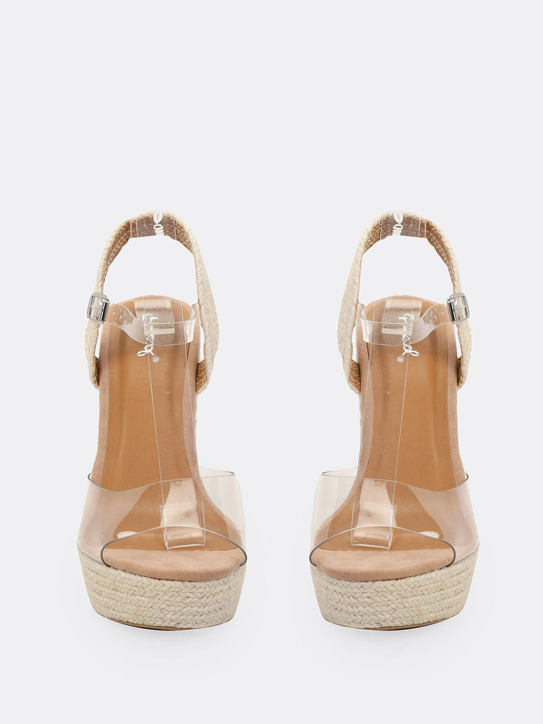 ddc41ce0d91 ... Iridescent Strap Jute Wrap Platform Wedge Sandals ...