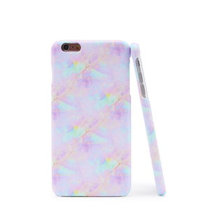 Iridescent Marble Print iPhone Case - Anabella's