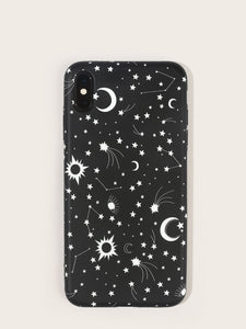 Starry Sky Pattern iPhone Case